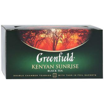 Чай чорний «Classic Breakfast»/«Kenyan Sunrise» Greenfield, 25 пак