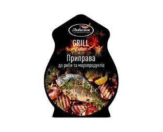 Приправа «Любисток» Grill Expert до риби та морепродуктів, 30г