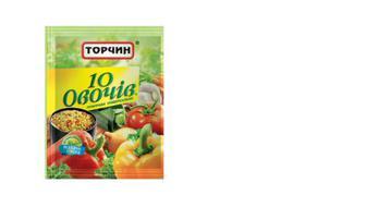 Приправа универсальная 10 овощей, Торчин, 60г