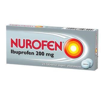 Нурофен 200 мг таблетки №24