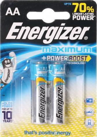 Батарейка Energizer Maximum FSB2 AA 2 шт. (637458)