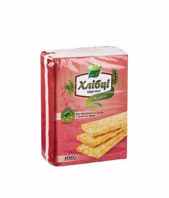 Хлібці хрусткі Луганці Галлеті 100г