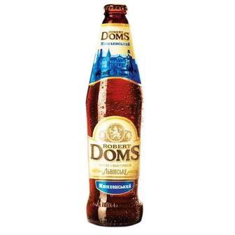Пиво Львовское Роберт Домс Бельгийский 0,5 л