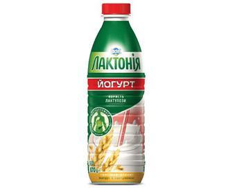 Йогурт «Лактонія» з лактулозою висівки-злаки, 1,5% жиру, 870г