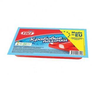 Крабовые палочки замороженные VICI 240 г