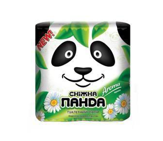Туал. бумага Арома    Снежная панда  4 шт