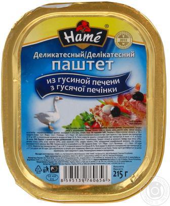 Паштет Hame 215г