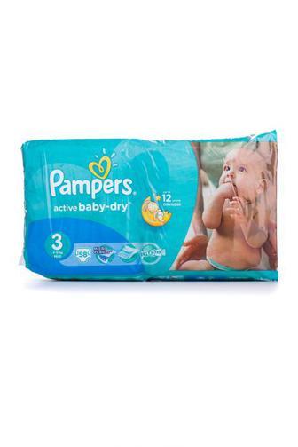 Подгузники PAMPERS Active Baby р3 4-9 кг 58шт Velio