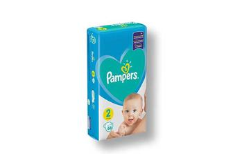 Підгузники Active Baby, Mini 2, Pampers 66 шт