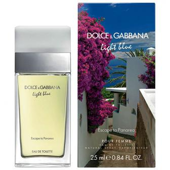 D&G LIGTH BLUE ESCAPE TO PANAREA туалетна вода 25 мл