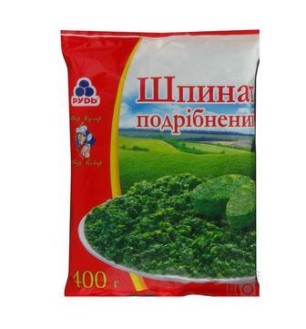 Суміш овочева  Дитячий мікс  або  Шпинат подрібненний Рудь  400 г