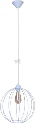 Підвіс Lamperia Iron bollus 1x60 Вт E27 білий