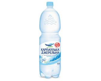 Вода мінеральна «Карпатська Джерельна» негазована, 1,5 л