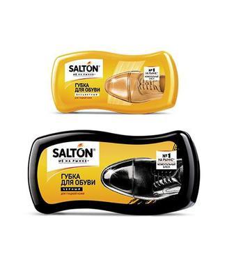 Губка для чищення взуття, чорна або безбарвна Салтон