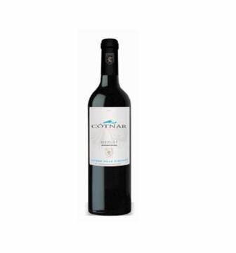 Вино червоне напівсолодке MERLOT Cotnar 0.75 л