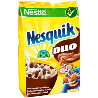 Кульки Nestle Nesquik Duo готовий сніданок 460г