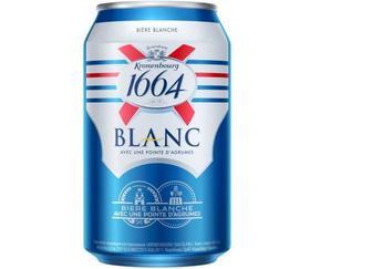 Пиво Kronenbourg 1664 Blanc, ж/б, 0,33л