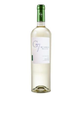 Вино біле G7 Sauvignon Blanc 0,75 л