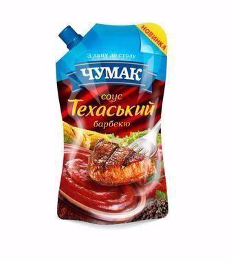 Соус Чумак техаський барбекю/Французький з гірчицею 200г