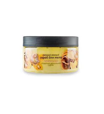 Сольовий скраб для тіла Energy of Vitamins Вершково-ванільне суфле