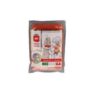 Сосиски з сиром Моцарелла ЖМГ 285г