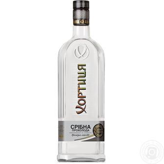 Горілка Срібна прохолода Хортиця 0,7 л