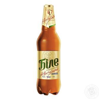 Пиво світле нефільтроване Чернігівське Біле 1,5л