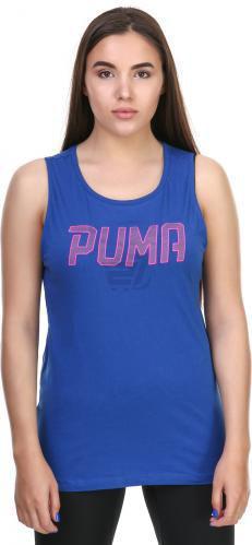 Майка Puma Athletic Tank W L синій