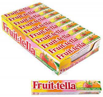 Цукерки жувальні Fruit-tella