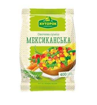 Суміш Хуторок Мексиканська овочева 400г