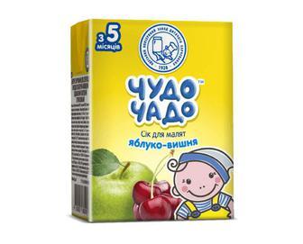 Сік для малят «Чудо-Чадо» яблуко-вишня, 200мл