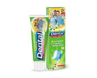 Паста зубна Dental Family «Прополіс і трави» 100мл