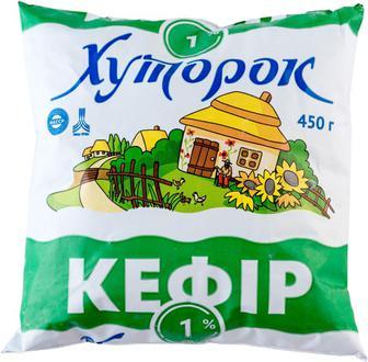 Кефір Хуторок 1% 450г
