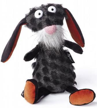 М'яка іграшка sigikid Beasts Кролик чорний 29 см 38614SK