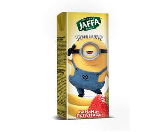 Нектар Jaffa Kinder Sponge Bob банан-полуниця, 0,2 л