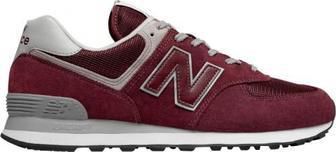 Кросівки New Balance ML574EGB р. 9,5 бордовий