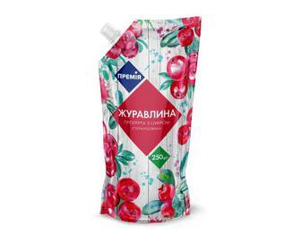 Журавлина протерта з цукром «Премія»® 250г