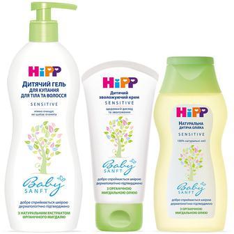 Засоби по догляду за тілом для дітей HiPP