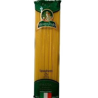 МАКАРОНИ Spaghetti, 450 г DONNA VERA