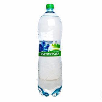 Вода мінеральна газована/негазована Знаменівська 1,5л