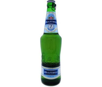 Пиво Балтика преміум світле, 0,5л