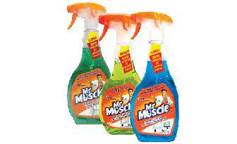 Засоби для миття скла Містер Мускул 500мл
