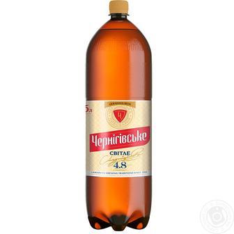Пиво Свiтле Чернiгiвське 2,35 л