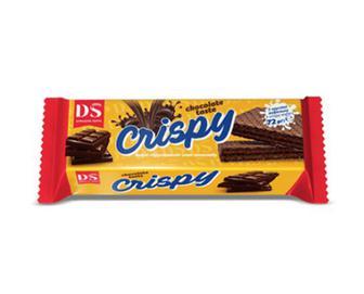Вафлі «Домашнє свято» Crispy смак шоколаду, 72г