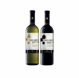Вино Шабо Класіка Каберне червоне, сухе/Шардоне біле сухе 0,75л