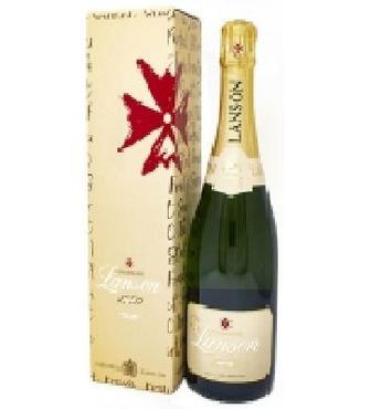 Вино ігристе Champagne Lanson напівсухе біле 0,75л 12,50%