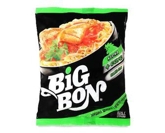 Локшина Big Bon курка + соус сальса, 75г