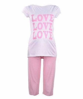 Піжама з принтом Love Love Love. від Blooming Marvellous