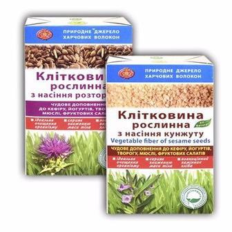 Диетическая добавка клетчатка из семян и отрубей GK 190г
