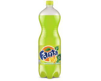 Напій Fanta з лимонним смаком, 1,5 л